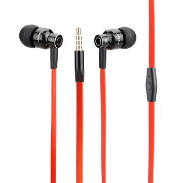 JBMMJ-8600 Metal Derin Bas Kulak içi kulaklık Telefon Kulaklığı Mikrofonlu Kulaklık, iPhone 8 Xiaomi Cep Telefonu için