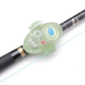 Peces eléctricos mordedura de alarma de peces fluorescentes herramientas de pesca mordedura de alarma