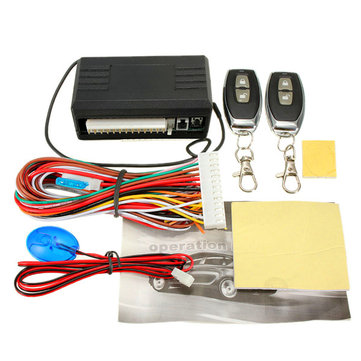 Universal Car Remote Control Central Kit Door Lock Locking Keyless Entry System