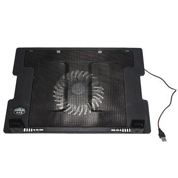 Computer Stand Cooling Cooler Pad 9-17 Inch Adjustable Anti-slip