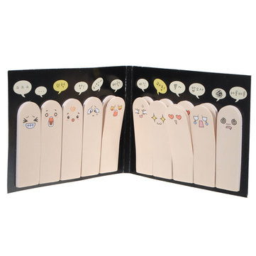 Ten Fingers Creative Sticker Bookmark Sticky